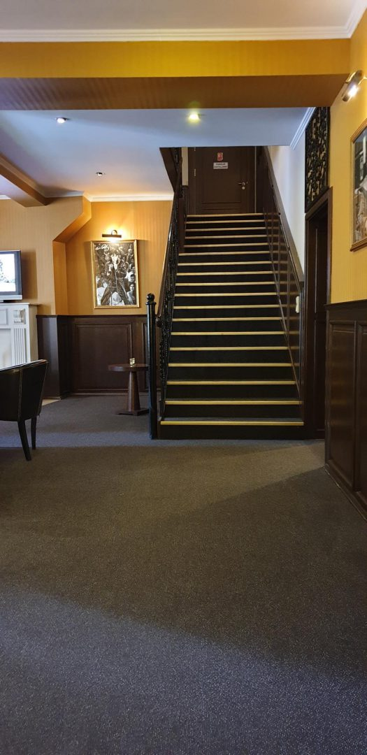 schody hotel zorza